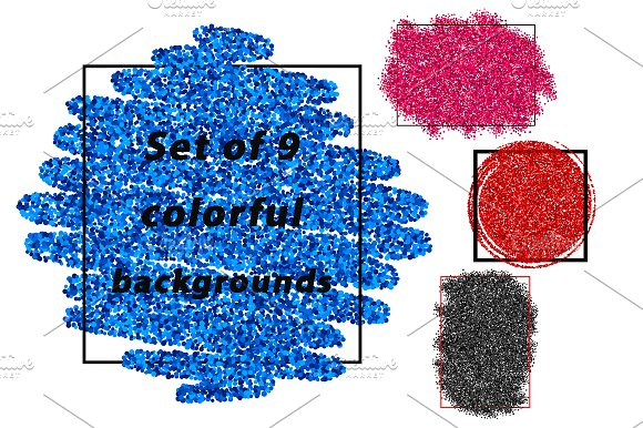 Original color abstract backgrounds