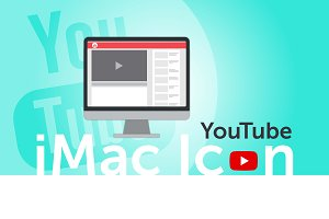 YouTube iMac Icon (vector version)