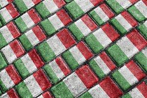 Italian Flag Pattern