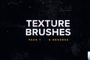 Texture Brushes Pack 1