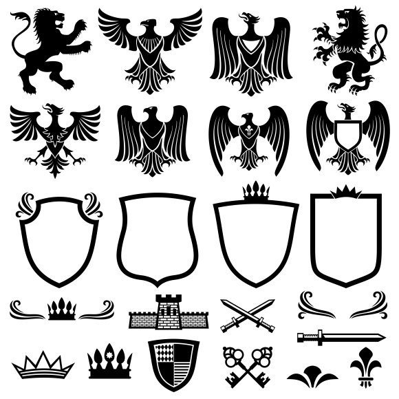 Family Coat Of Arms Elements