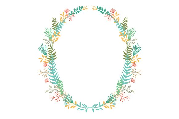 Oval frames ~ Graphic Objects ~ Creative Market