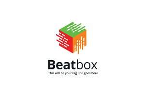 Beat box Logo Template