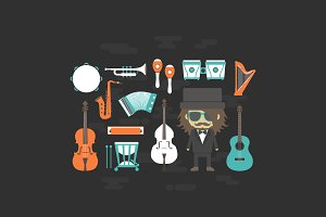 classical music with musician