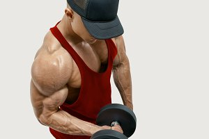 Dumbbell Biceps Curl Arm Workout