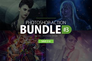 Photoshop Action Bundle #3