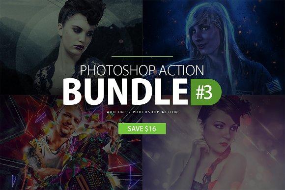 Photoshop Action Bundle #3