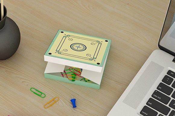 DIY Carrom Favor - 3d papercrafts