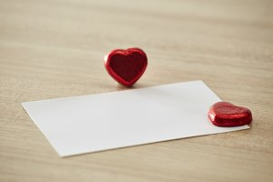 Love message or invitation