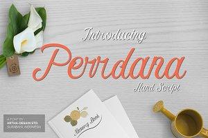 Perrdana Hand Script