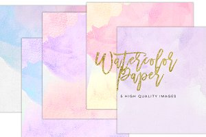Watercolor Modern prints,