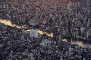 Tokyo skyline & Mt Fuji 2