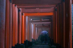 Japanese gates
