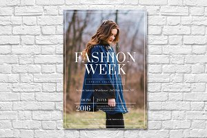 Fashion Week Flyer