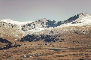 Snow Dusted Peaks