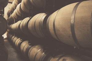 Napa Wine Barrels