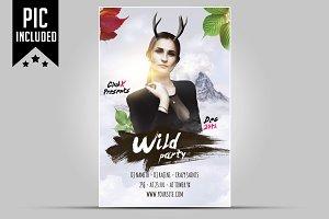 Wild Party flyer