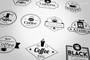 Coffee Badges Logos