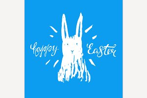 Vector Easter Lettering