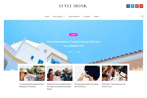 Style Monk - Magazine And Blog Theme