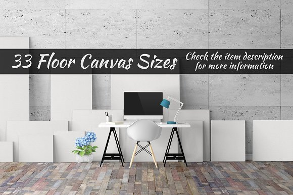 Canvas Mockups Vol 327 in Print Mockups - product preview 2