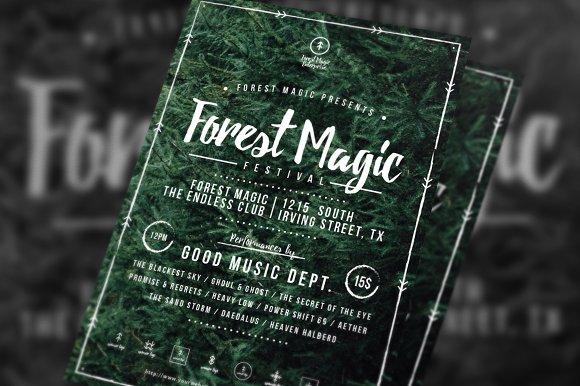 Forest Magic Festival Flyer