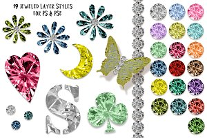 Jeweled Layer Styles