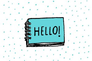 Hello word in a notebook