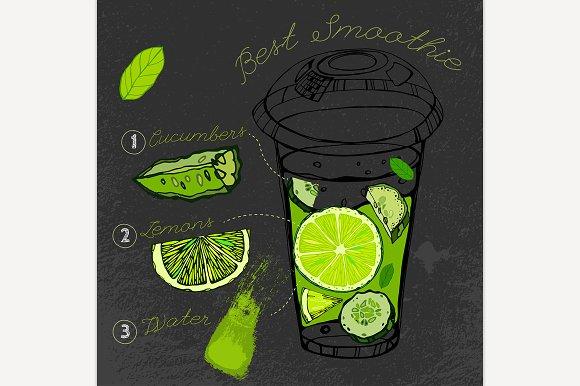 Cucumber Lemon Smoothie