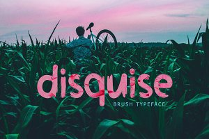Disquise Brush Typeface