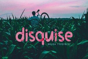 Disquise Brush Typeface