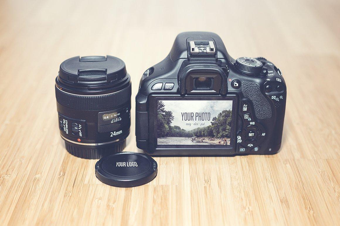 Realistic Camera Mock Up Product Mockups Creative Market Kaos Kamera Photograph 3