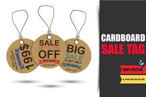 Cardboard Sale Tag