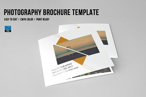 Trifold photography Brochure-V649