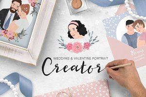 Wedding & Valentine Portrait Creator