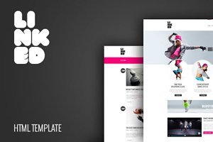 Linked - Responsive HTML Template