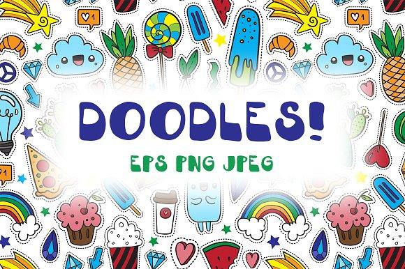 Doodles! - vector set