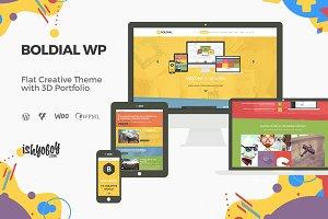 Boldial WP - 3D Portfolio Theme
