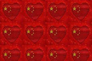 Chinese Motif Pattern