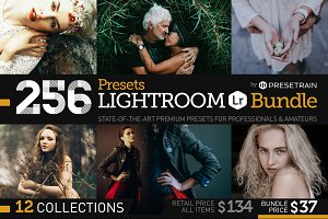 256 New Lightroom Presets Bundle