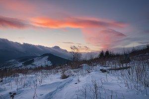 Sunset at Kozmeschika Web