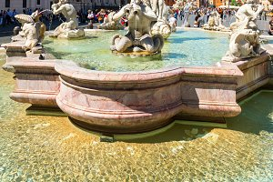 Fontana del Moro in Rome