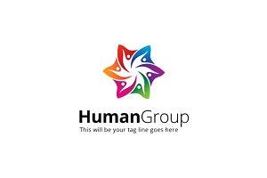 HumanGroup Logo Template