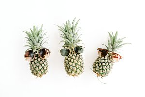 Pineapples in Sunglasses