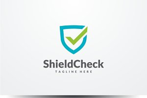 Shield Check Logo