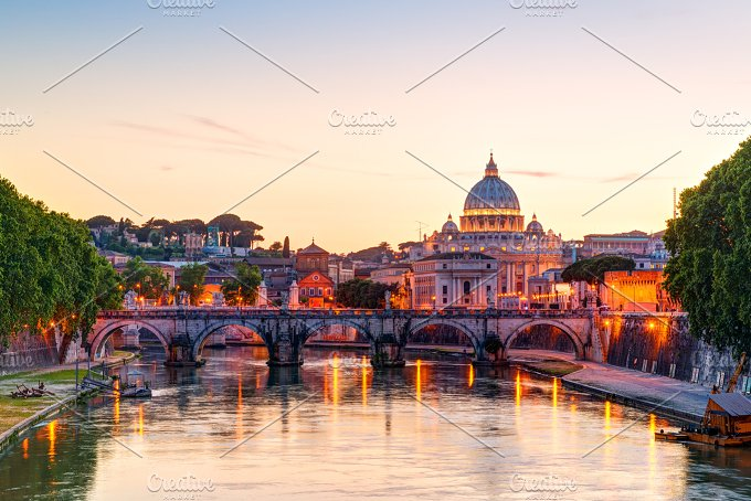 St. Peter's cathedral in Rome - Architecture