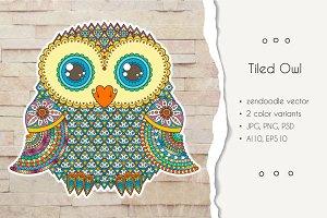 Tiled Owl
