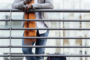 Businessman in the Street.