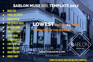 Sablon Muse Hotel Template