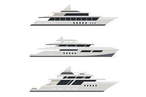 Motor Yacht Set